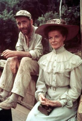 The African Queen with Katherine Hepburn