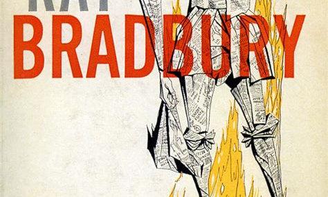 fahrenheit 451 ray bradbury book cover literature online class for kids online school best homeschool literature curriculum