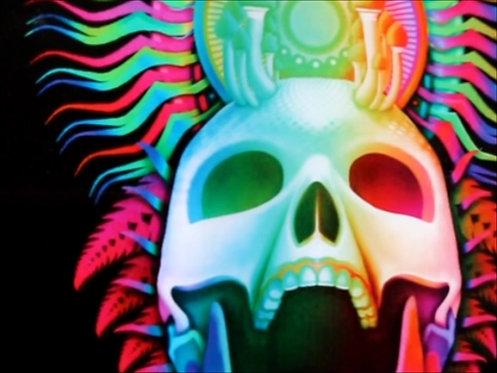 Lenticular Print - Mushroom Death Mask