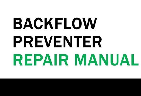 Backflow Preventer Manual