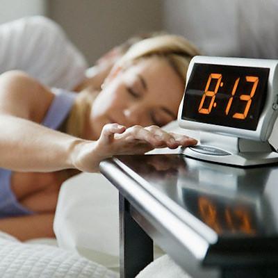 5. Get Some Sleep!