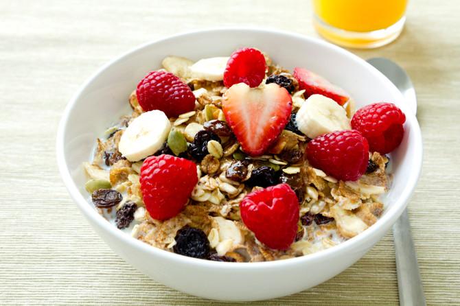 1. Eat a Healthy Breakfast