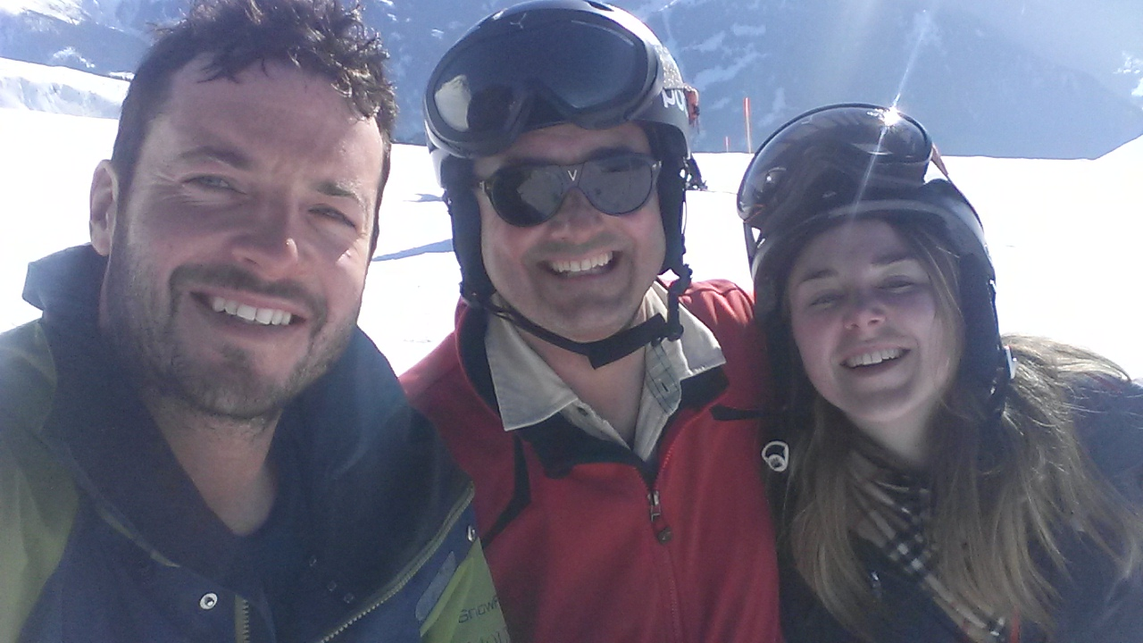 Snow Family Verbier