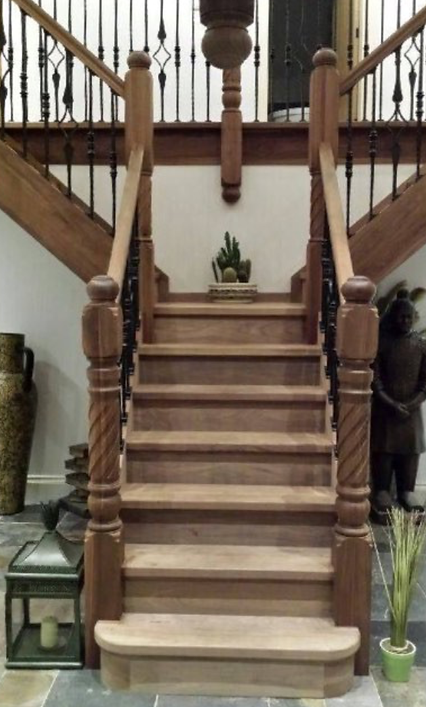 bespoke staircase by Shrewsbury Joiney Limited