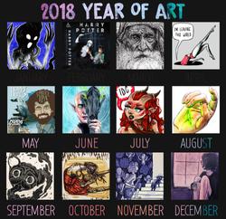 2018 Social Media Improvement Meme