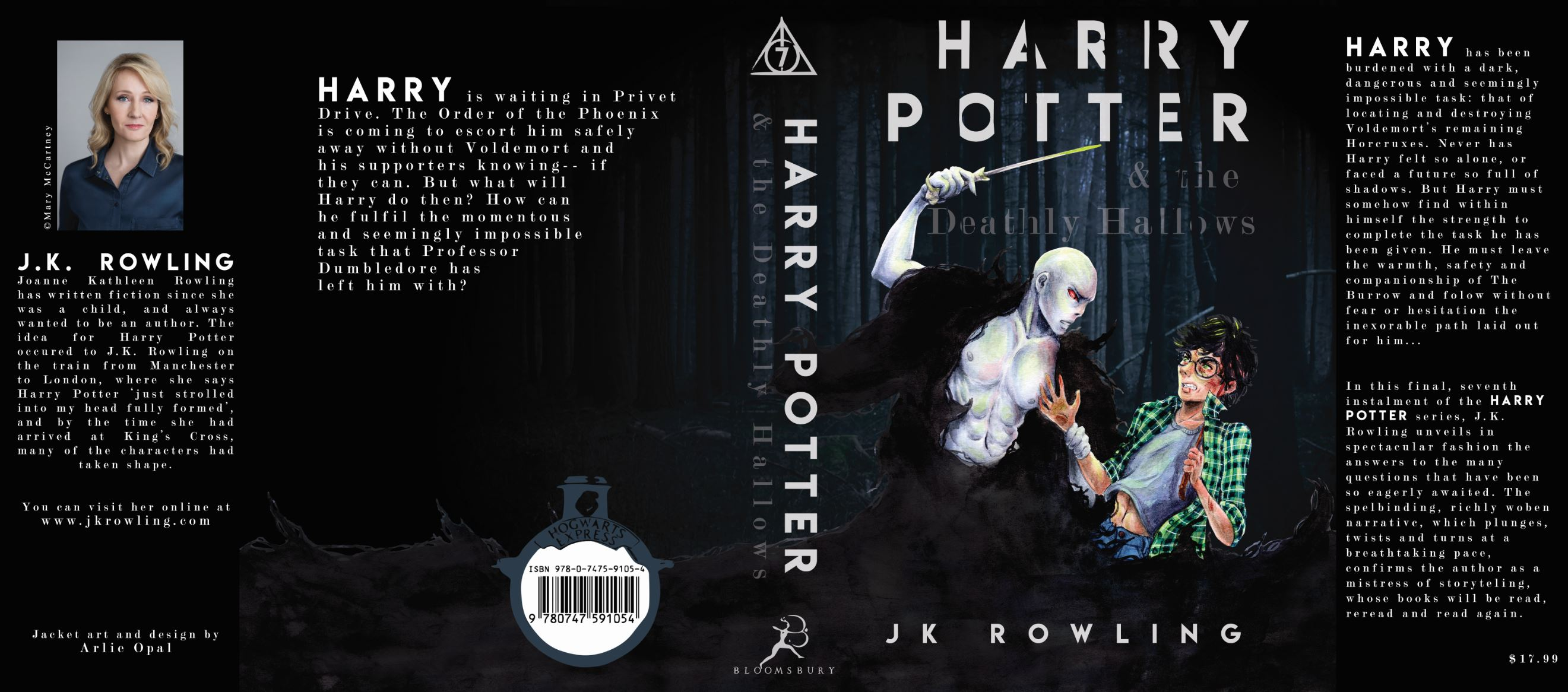 Harry Potter Book Jacket