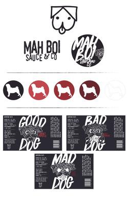 Mah Boi Branding Board