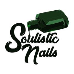 Soulisitic Nails Bottle Logo
