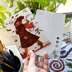 Post Card Mockups