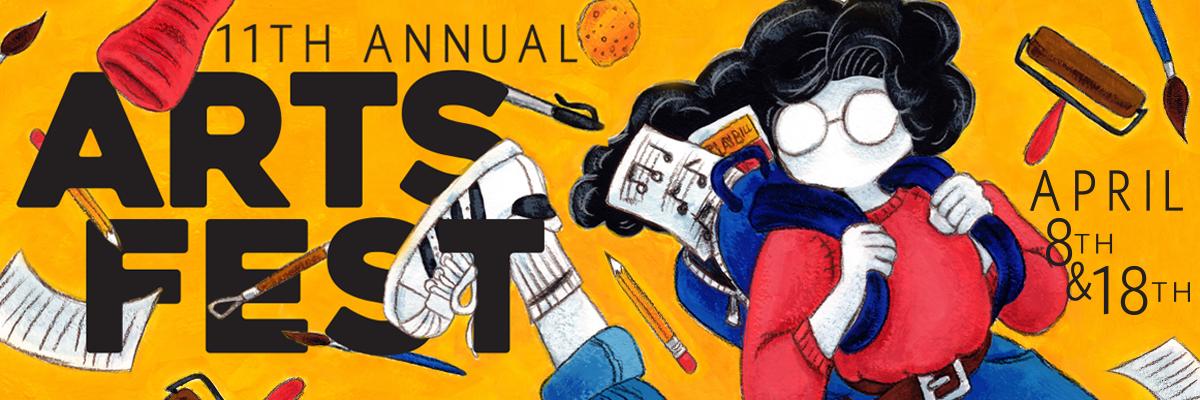 Arts Fest Web Banner