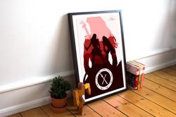 Minimalist Xena Poster