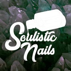 Soulisitic Nails Bottle Alternative Logo