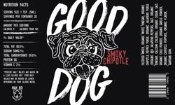Good Dog Hot Sauce Label