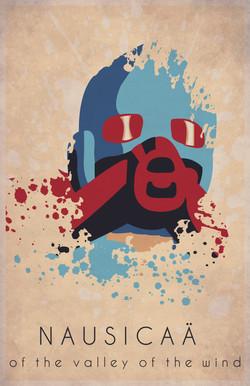 Nausicaa Minimalist Poster Design