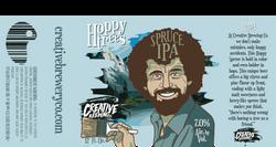 Hoppy Trees Ale Label
