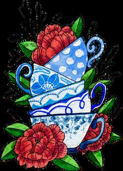 Pretty Teacups, 2016
