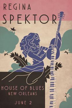 Regina Spektor Concert Poster