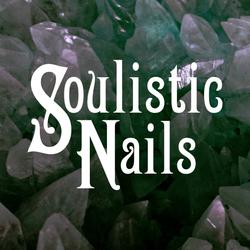 Soulisitic Nails Wordmark Logo