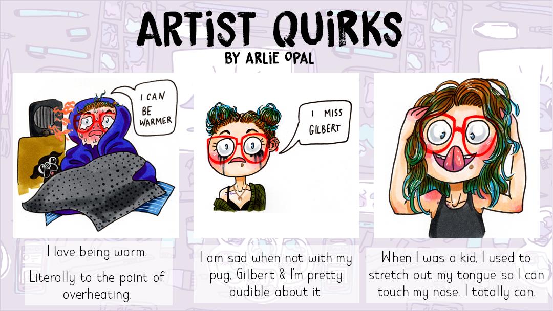 Artist Quirks Social Media