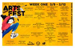 Arts Fest Postcard Week 1