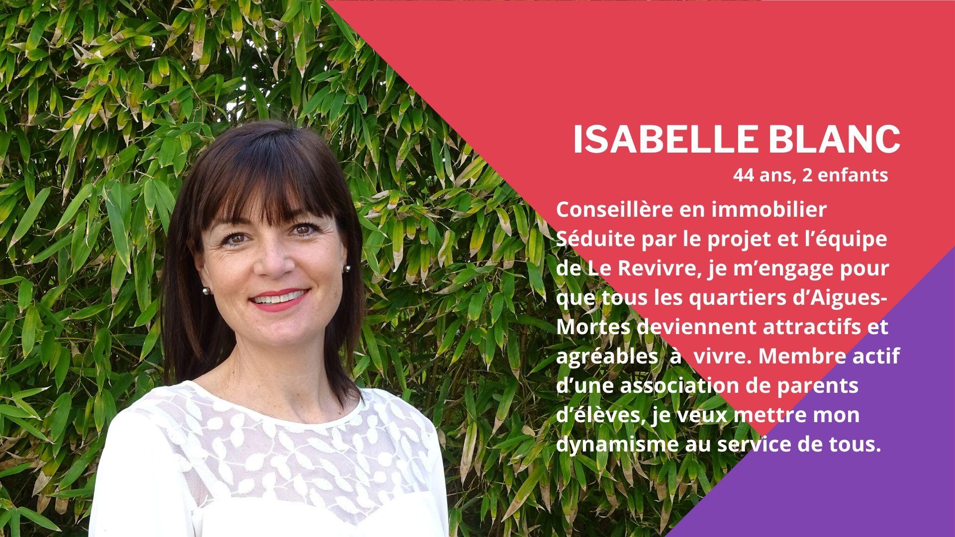 Le Revivre - Isabelle Blanc