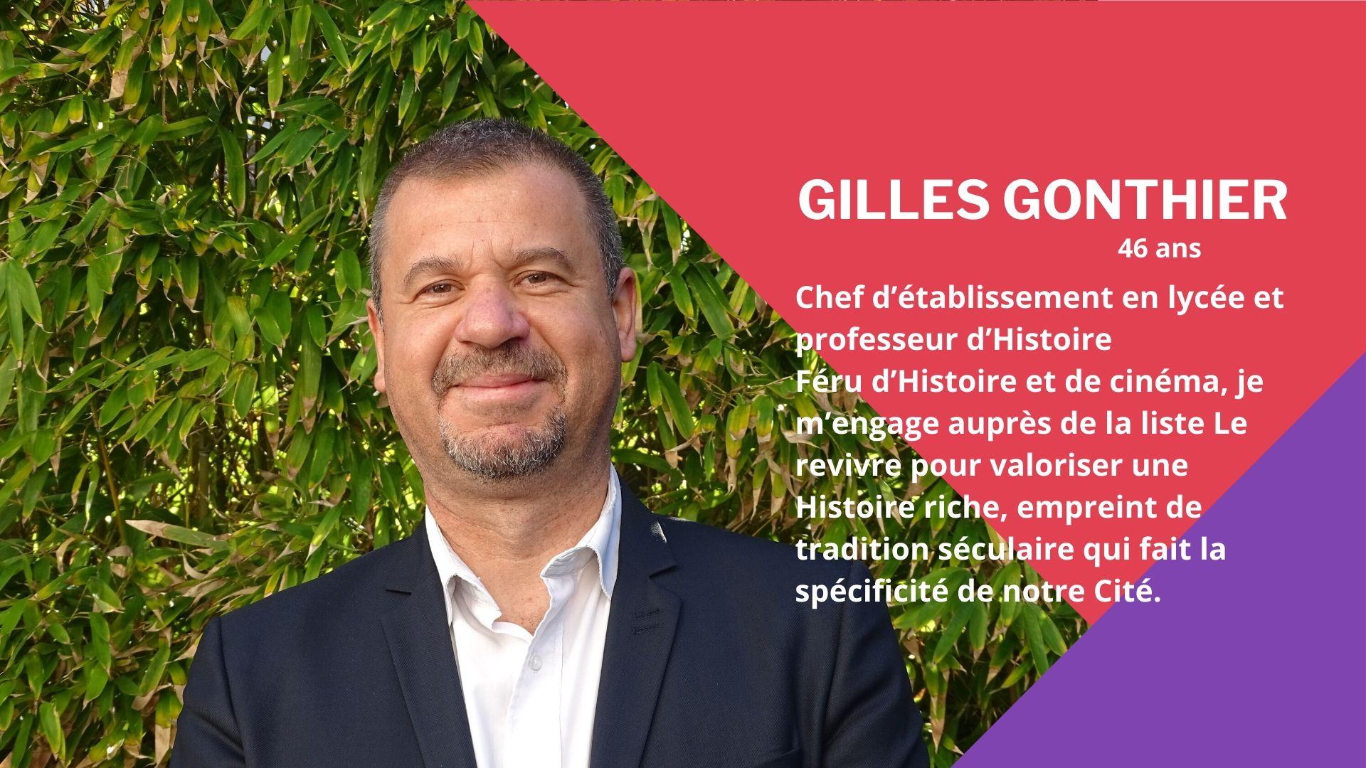 Le Revivre - Gilles Gonthier