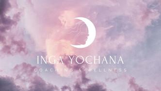 Inga yochana business card - front