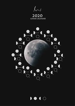 2020 Lunar Calendar Pack (Yugen)