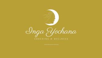 Inga yochana business card front