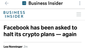 Facebook Has Been Asked to Halt Its Crypto Plans - Again