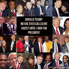 """Donald Trump wasn't considered a """"racist"""" until he ran as a #Republican"""