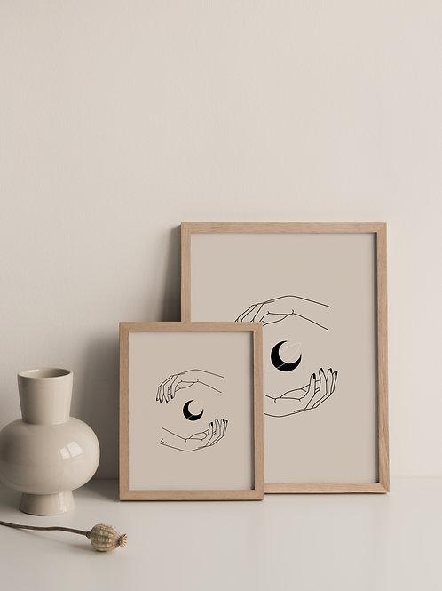 'Moon Spell' Print