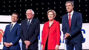 Warren, Sanders dominate first debate talk time