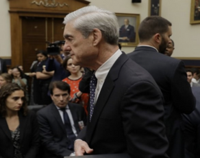 Robert Mueller ended the obstruction question in the first 30 minutes of the hearing
