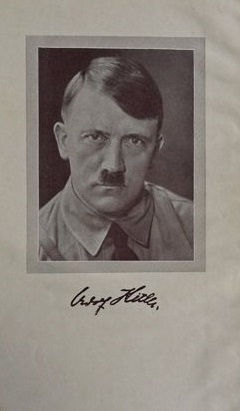 Hitler Picture Mein Kampf