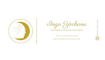 Inga yochana business card - back