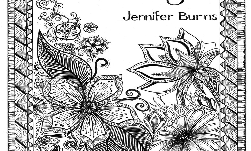 How to Draw (and Colour) Zentangles