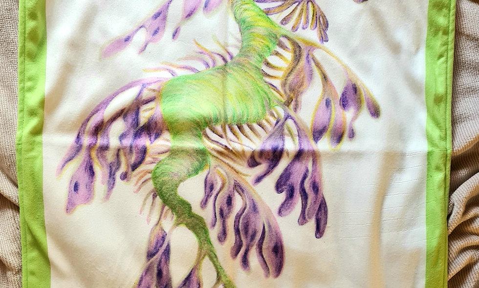 Leafy Sea Dragon Baby Blanket