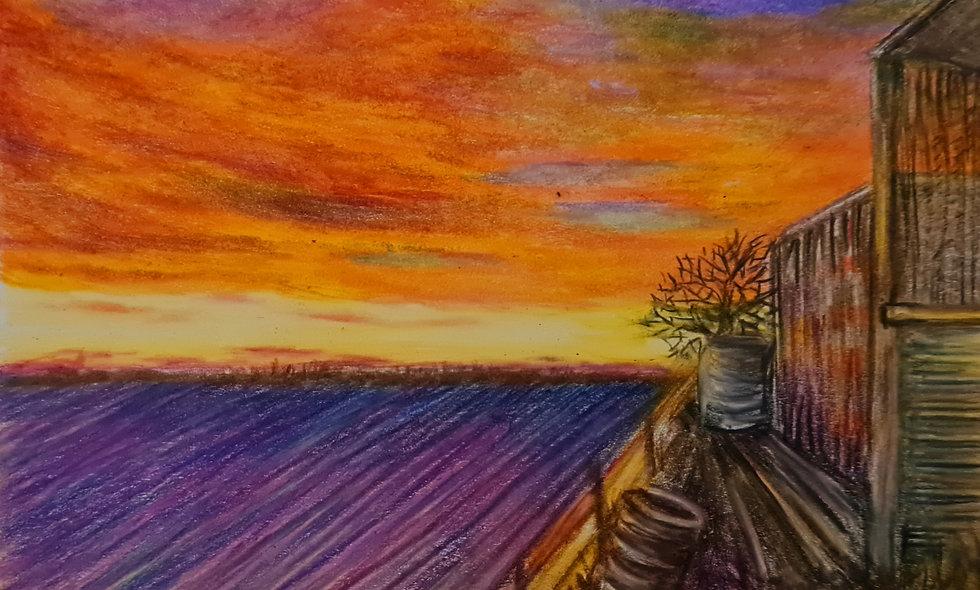 Cargo Sunset