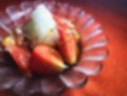 ポンズ、トマト漬け