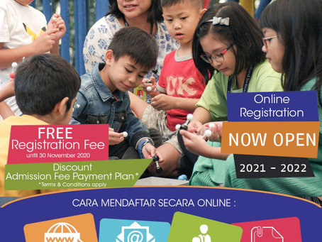 Open Registration for Academic Year 2021 - 2022