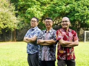 The Reunion of Three Good Friends from NTU at Stamford School