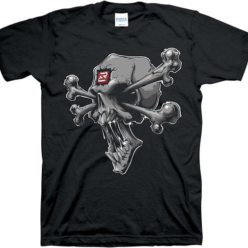 Skully T-Shirt Black