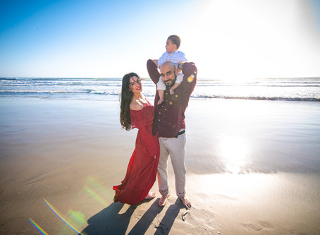 San Diego Beach Photoshoot - San Diego Vacation Photographer