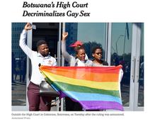 Botswana Court Hears Decriminalization of SOGIESC Appeal