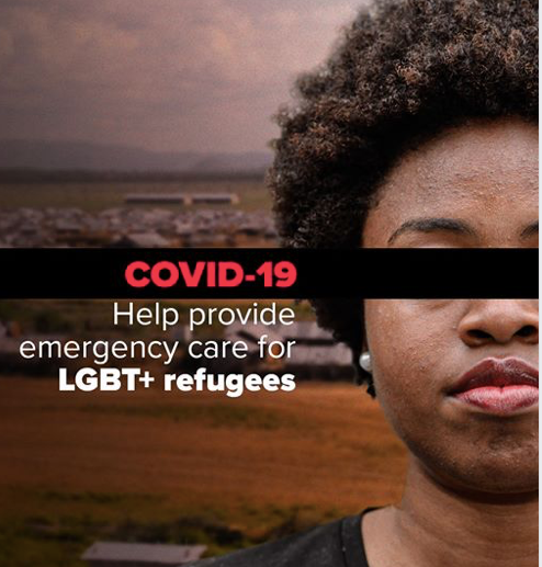 Emergency COVID-19 Funding Sought for African LGBTI Refugees