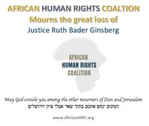 Mourning the Loss of U.S. Justice Ruth Bader Ginsberg