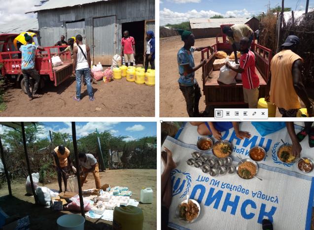 COVID-19 Emergency Food for LGBTQI Refugees in Kakuma Camp