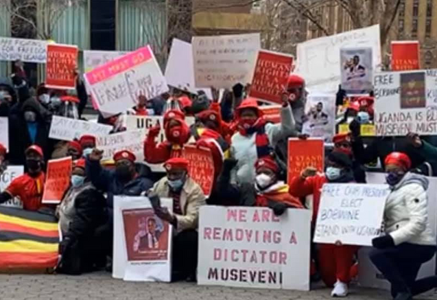 BOBI WINE Speaks from House Arrest as Protests Erupt Around the World Condemning Ugandan Election
