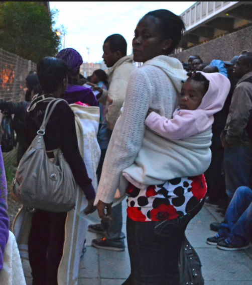 This UDHR Day we call on South African Government to treat Asylum Seekers with Respect and Dignity